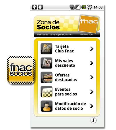Fnac Socio app