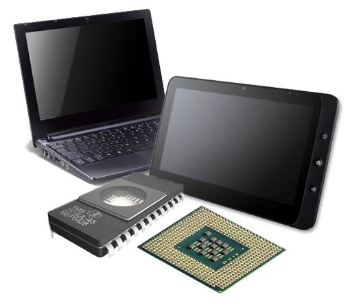 Memoria y procesador en dispositivos