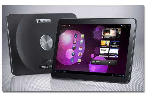Samsung presenta el Galaxy Tab 10