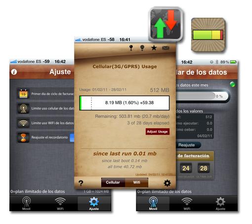 Controla el consumo de datos en tu iPhone