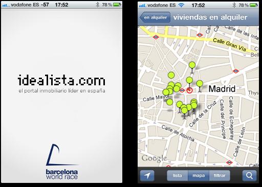 Idealista.com, ahora en tu iPhone y Android
