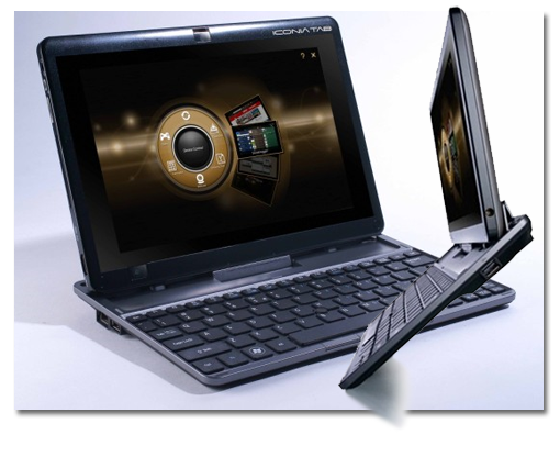 Acer Iconia Tab W500. Escoge entre tablet o portátil