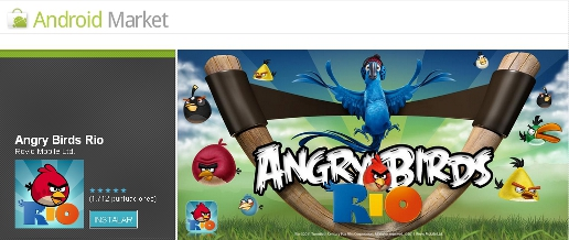Angry Birds Rio ya disponible en el Android Market