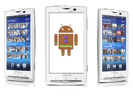 Sony Ericsson brindará de Gingerbread al X10