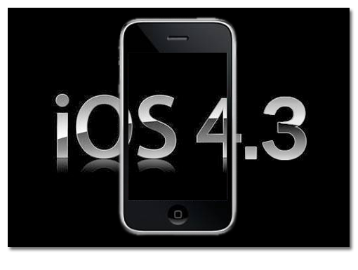 iOS 4_3 iphone3g