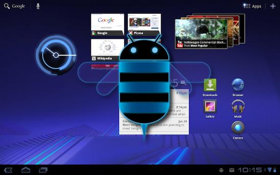 Android Honeycomb 3.1 trae jugosas novedades
