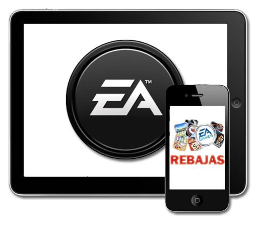 EA rebaja sus juegos para iOS