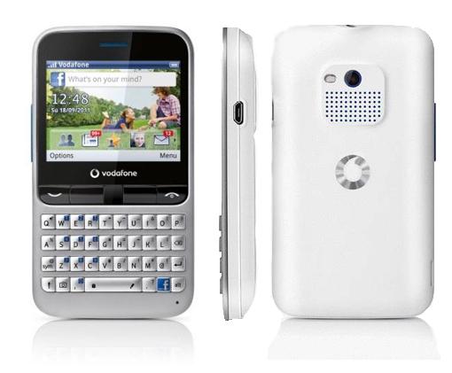 Nuevo Vodafone 555 Blue. El Facebook Phone de prepago