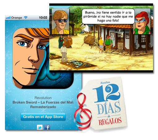 12 días de regalos. Hoy, el juego Broken Sword: Las Fuerzas del Mal