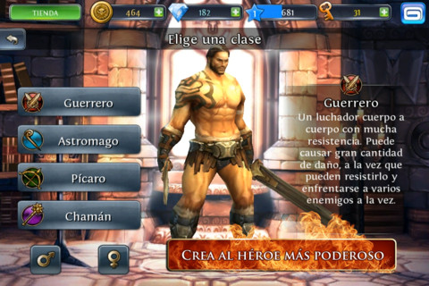 Dungeon Hunter III ya disponible