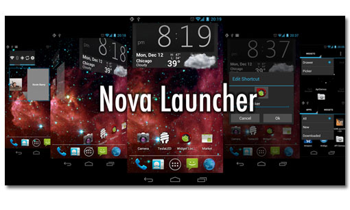 Nova Launcher. Personaliza la interfaz de tu ICS