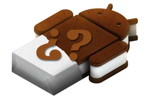 Conoce si tu smartphone o tablet se actualizará a Ice Cream Sandwich