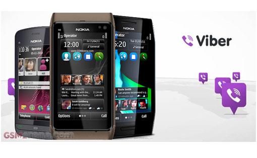 Viber estará disponible para Symbian