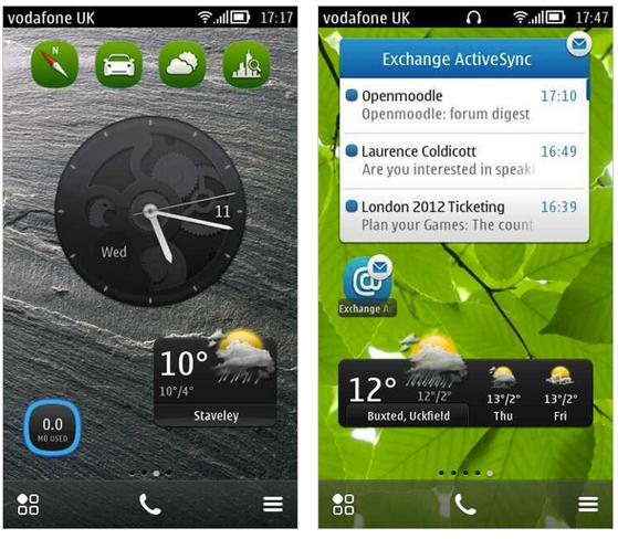Nokia Symbian belle
