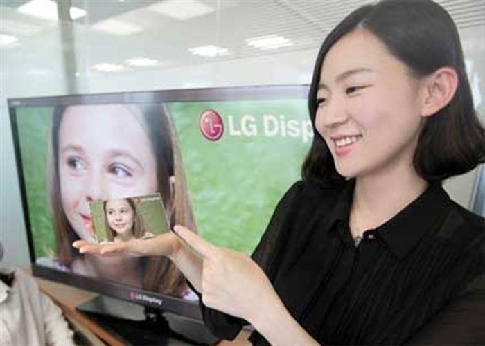 Lg presenta una pantalla de 5 pulgadas y 440ppp