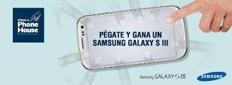 Gana el segundo Galaxy SIII con Phone House