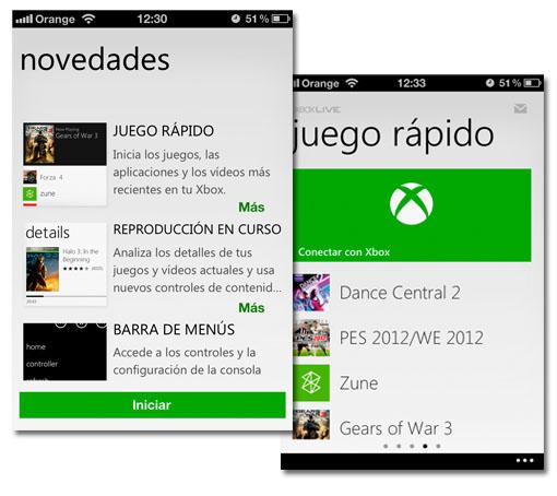 My Xbox LIVE con control remoto en iOS y ahora para Android