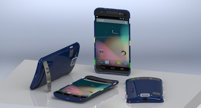 Google Nexus D concepto