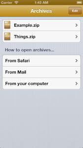 Archives, nuevo gestor de archivos para iOS