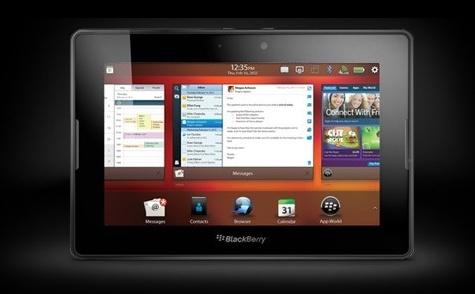 Blackberry renueva su tablet