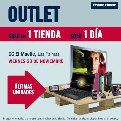 Outlet tecnológico en Canarias para hacer frente a la crisis