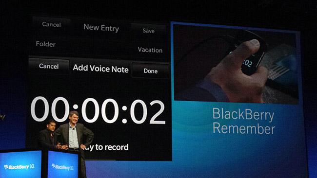 Presentación oficial de Blackberry 10, Z10 y Q10