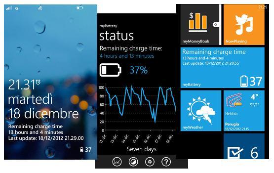 MyBattery para Windows Phone 8