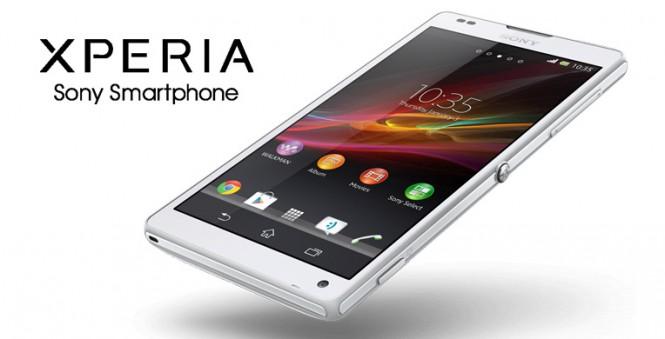 Presentación Sony Xperia ZL CES 2013