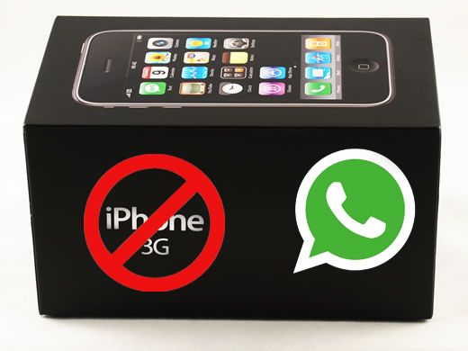 WhatsApp deja de ser compatible con iPhone 3G