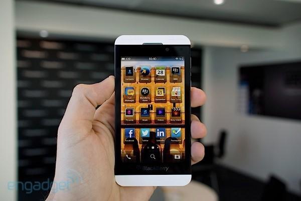 Blackberry 10 recibe su primera actualización