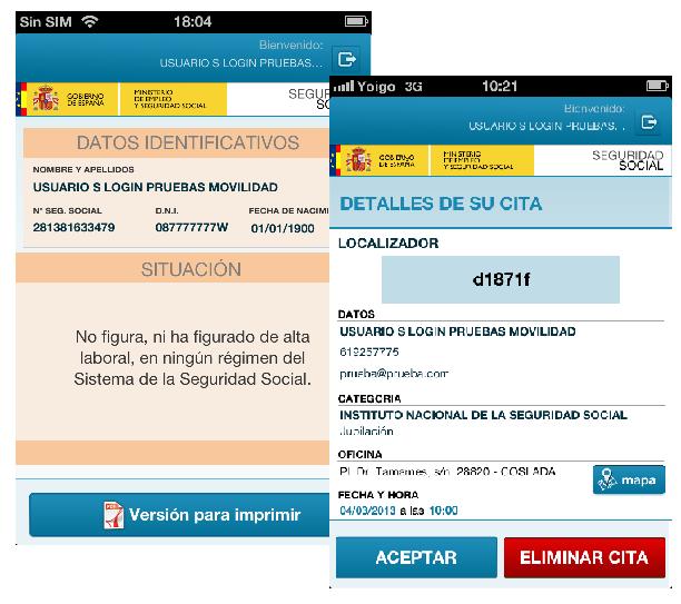 Las aplicaciones de la Seguridad Social en tu smartphone o tablet