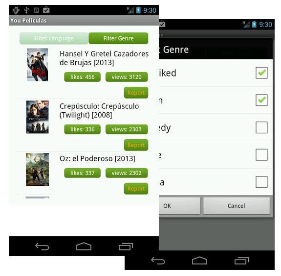 You Películas. Series y películas de estreno en tu Android