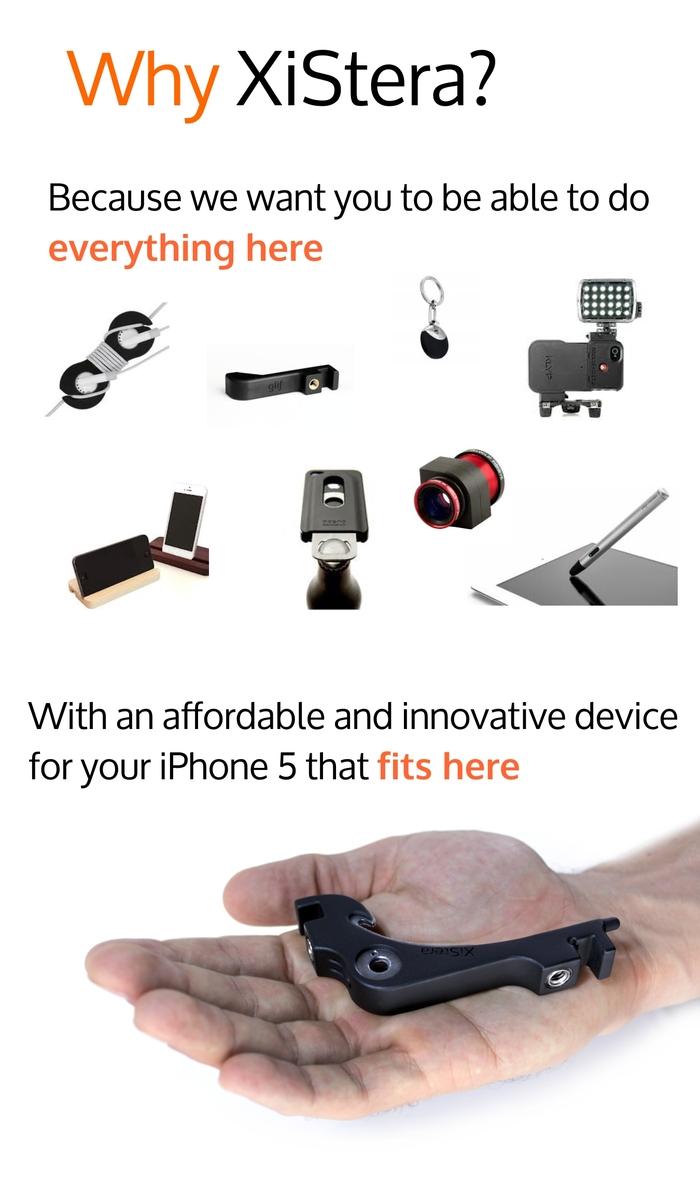 XiStera 8. Multiusos para tu iPhone 5