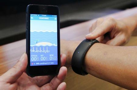Pulsera inteligente compatible con iPhone
