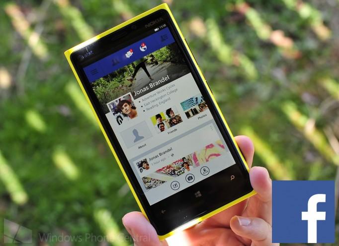 Facebook llega a Windows Phone 8