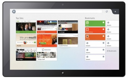 Mozilla lanza una versión pre-beta de Firefox para tablets con Windows 8