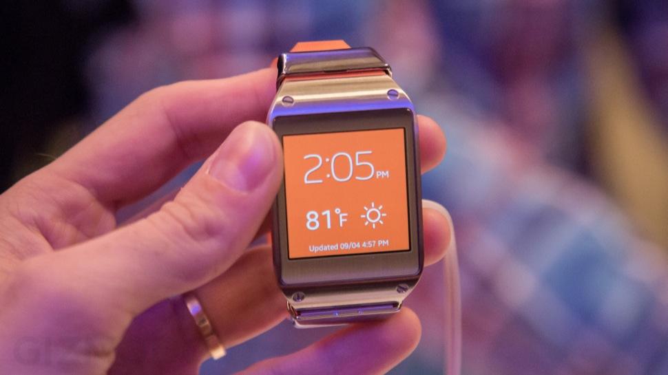 Galaxy Gear, el reloj inteligente de Samsung con Android