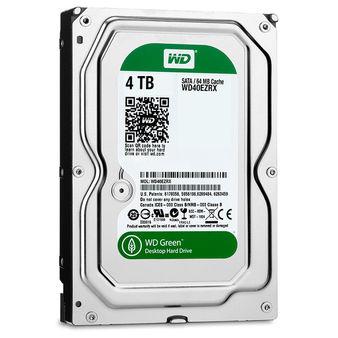 Western Digital lanza un disco duro de  4 TB dentro de su serie verde
