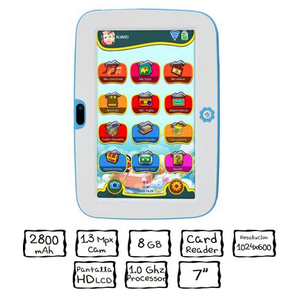 Woxter Sr Nilson Lite, la tablet perfecta para los niños