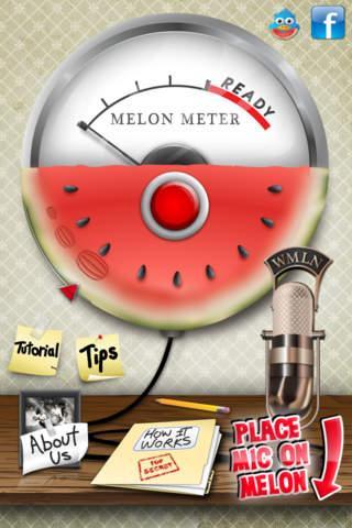 Melon Meter, comprueba la calidad de melones y sandías