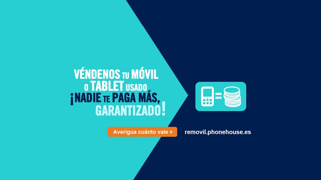 La valoración media de los smartphones usados aumenta de 25 a 100€ en tres años