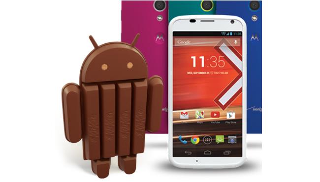 Motorola Moto G empieza a recibir su dosis de Kit Kat