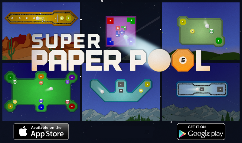 Super Paper Pool