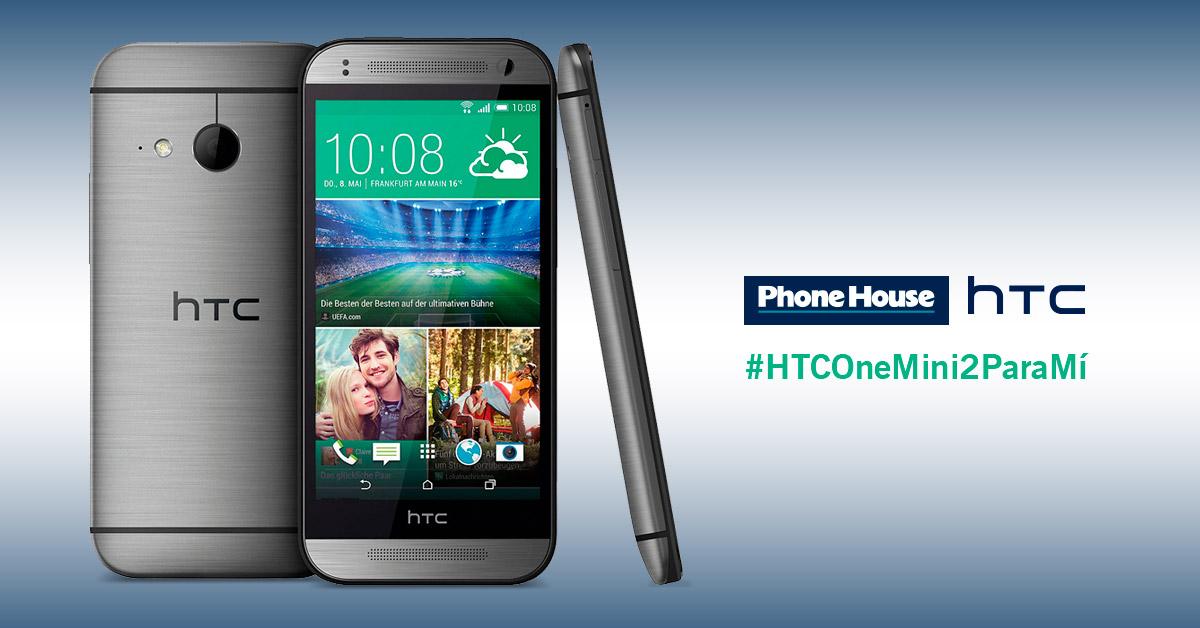 Sorteo HTC One Mini 2 en Twitter y Facebook, ¡ya sabemos quién ha ganado!