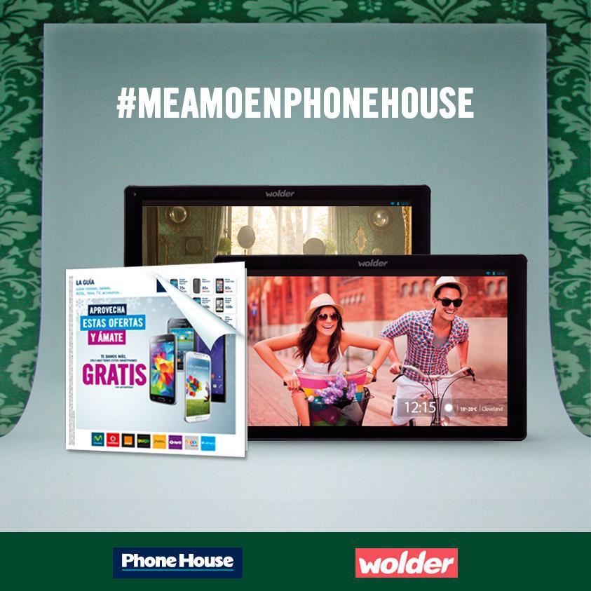 Esta Navidad ámate en Phone House y gana un tablet Wolder MiTab Cleveland