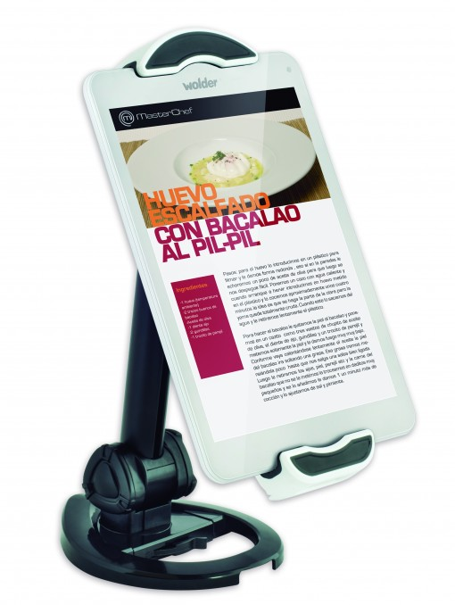 Tablet-wolder-miTab-MasterChef-soporte
