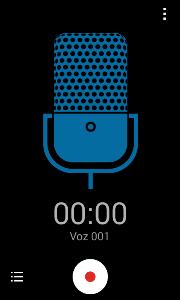 grabadora voz