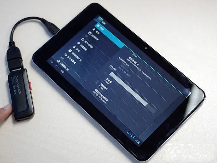 Cómo intercambiar datos entre nuestro tablet y un pendrive