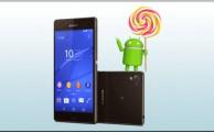 Últimas versiones de Android para Sony