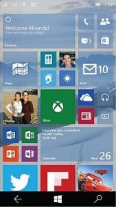 Windows 10 mobile1
